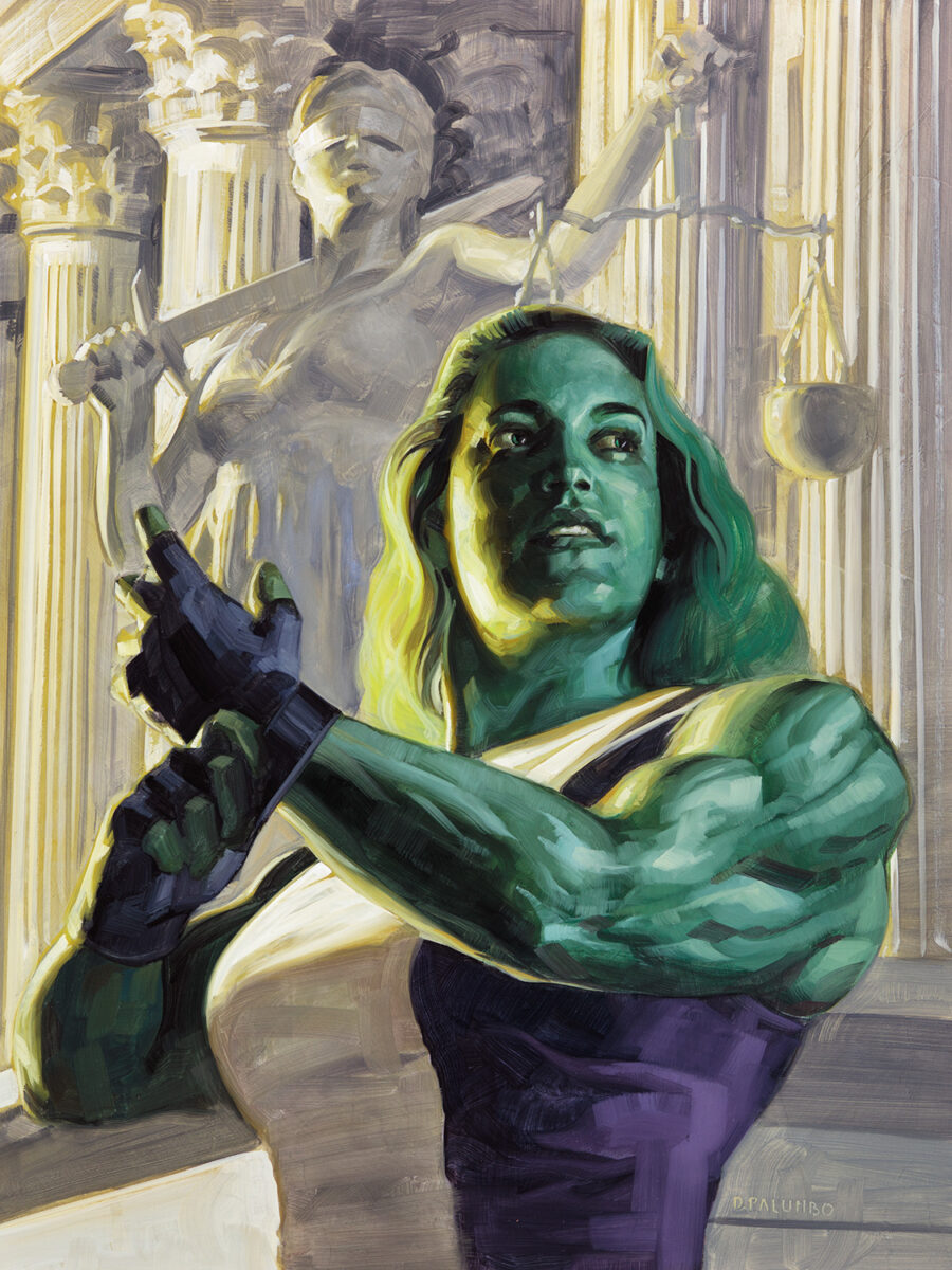 Richard Solomon - 13.she-hulk