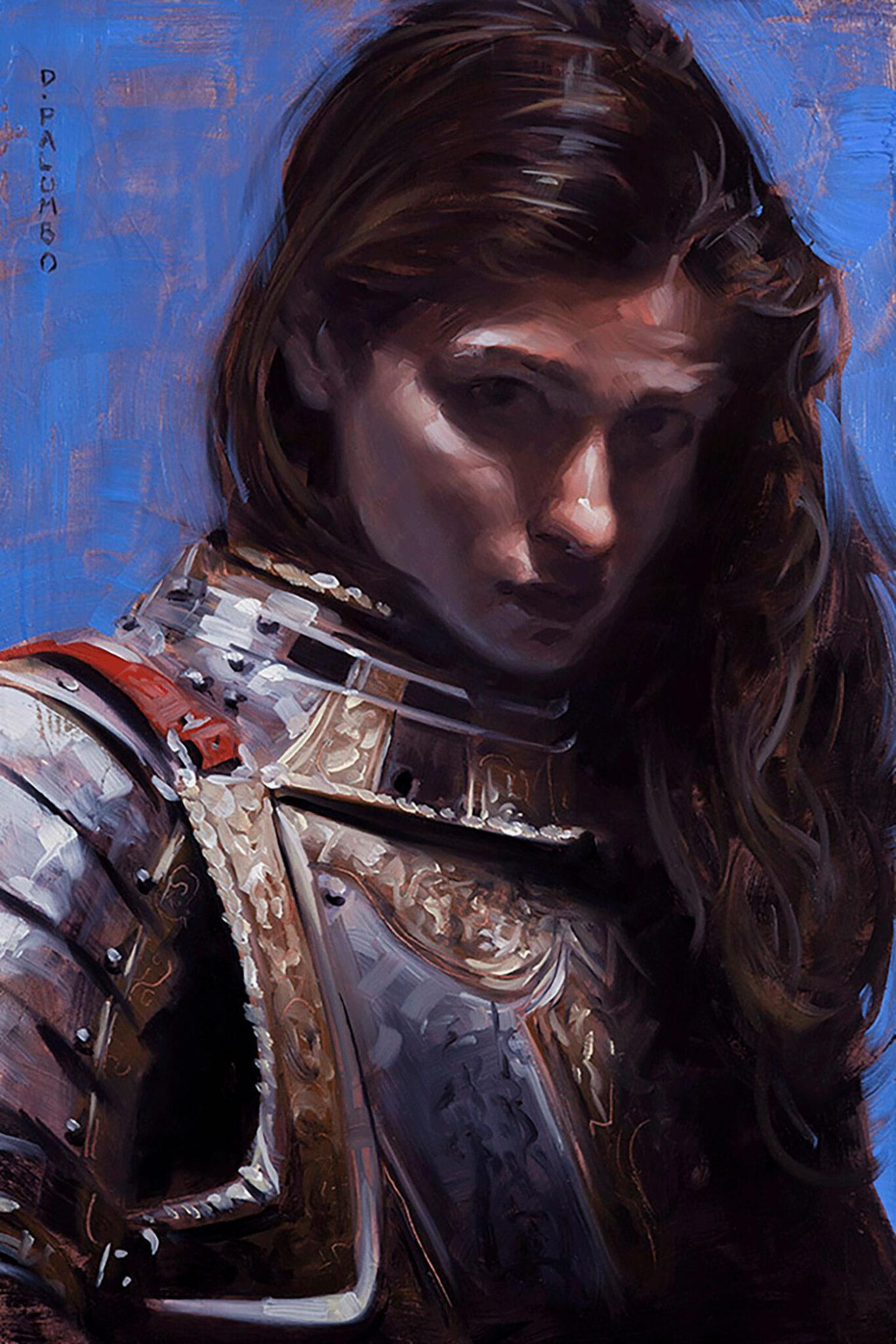 Richard Solomon - David-Palumbo-229-portrait-of-young-woman-in-armor