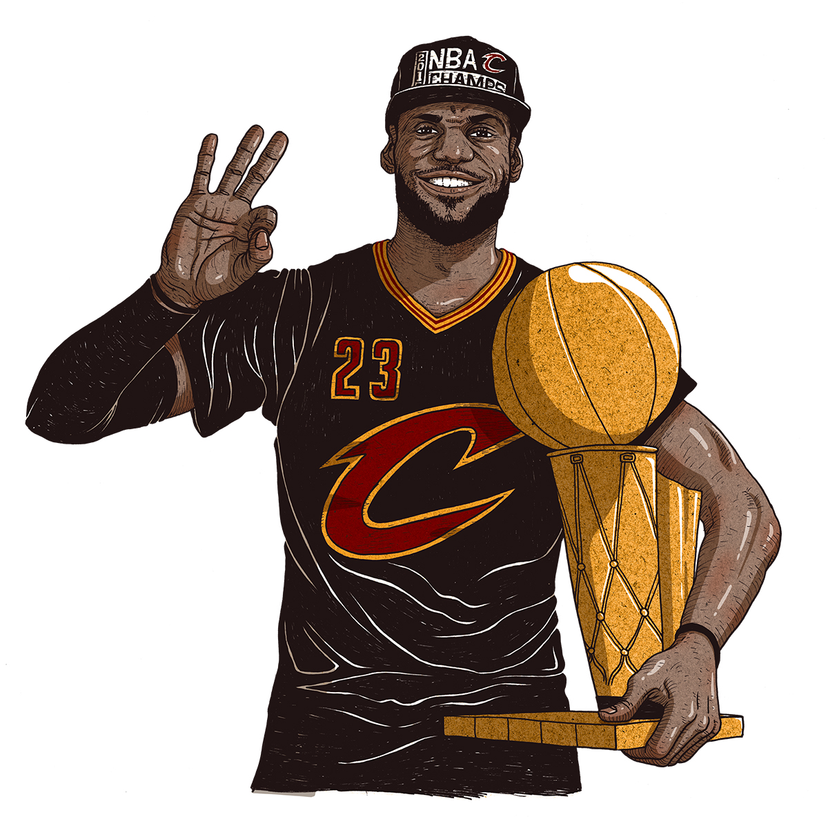 Richard Solomon - Dongyun-Lee-221-LebronNBAChamps_rgb