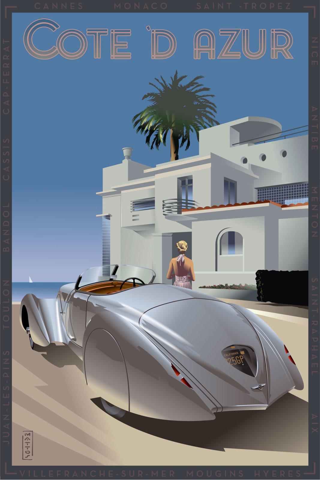 Richard Solomon - John-Mattos-191-Bentley-ART24x36