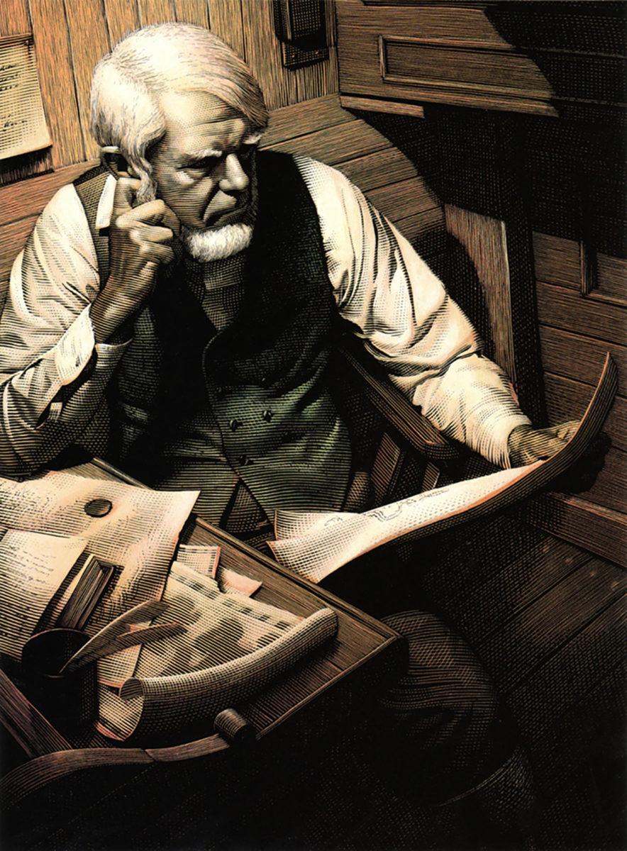 Richard Solomon - Mark-Summers-109-Moby-Dick-Captain-Ahab