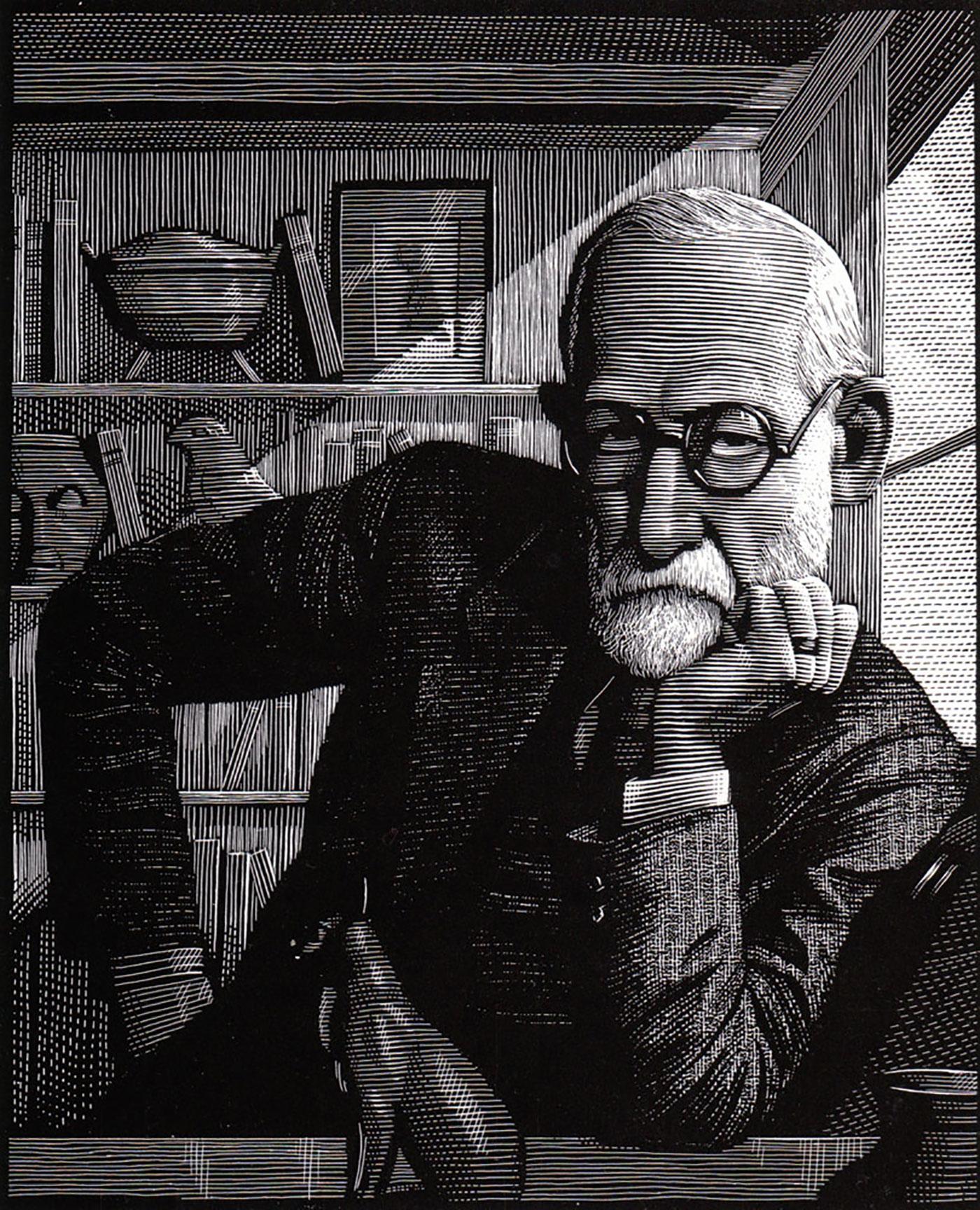 Richard Solomon - Mark-Summers-155-P-Sigmund-Freud