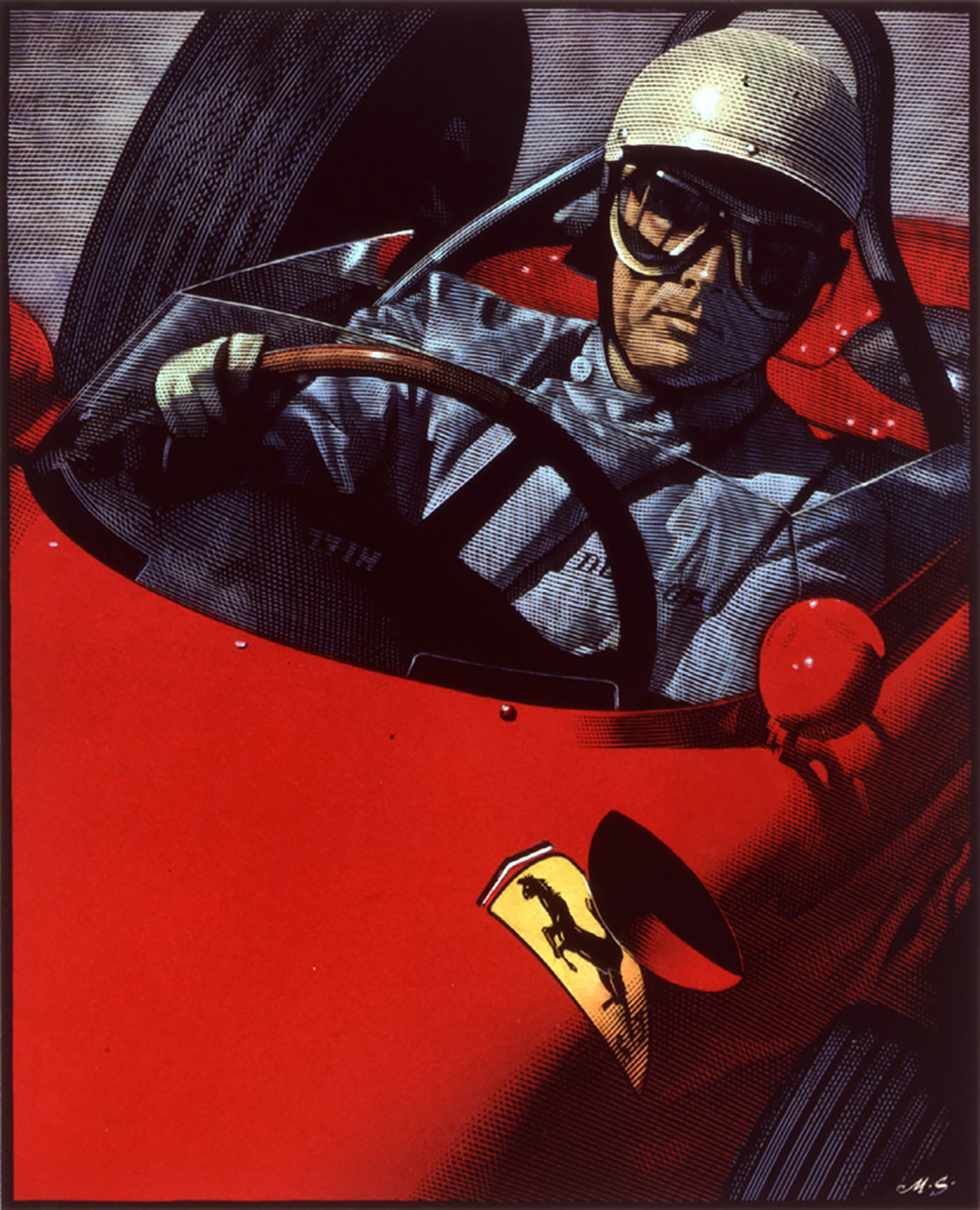Richard Solomon - Mark-Summers-171-Phil-Hill-Racecar