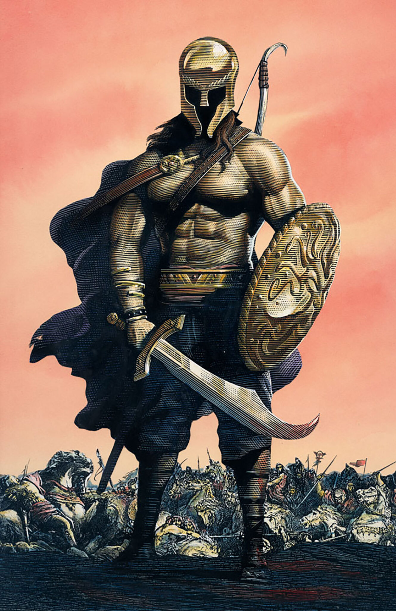 Richard Solomon - Mark-Summers-318-Warrior-color