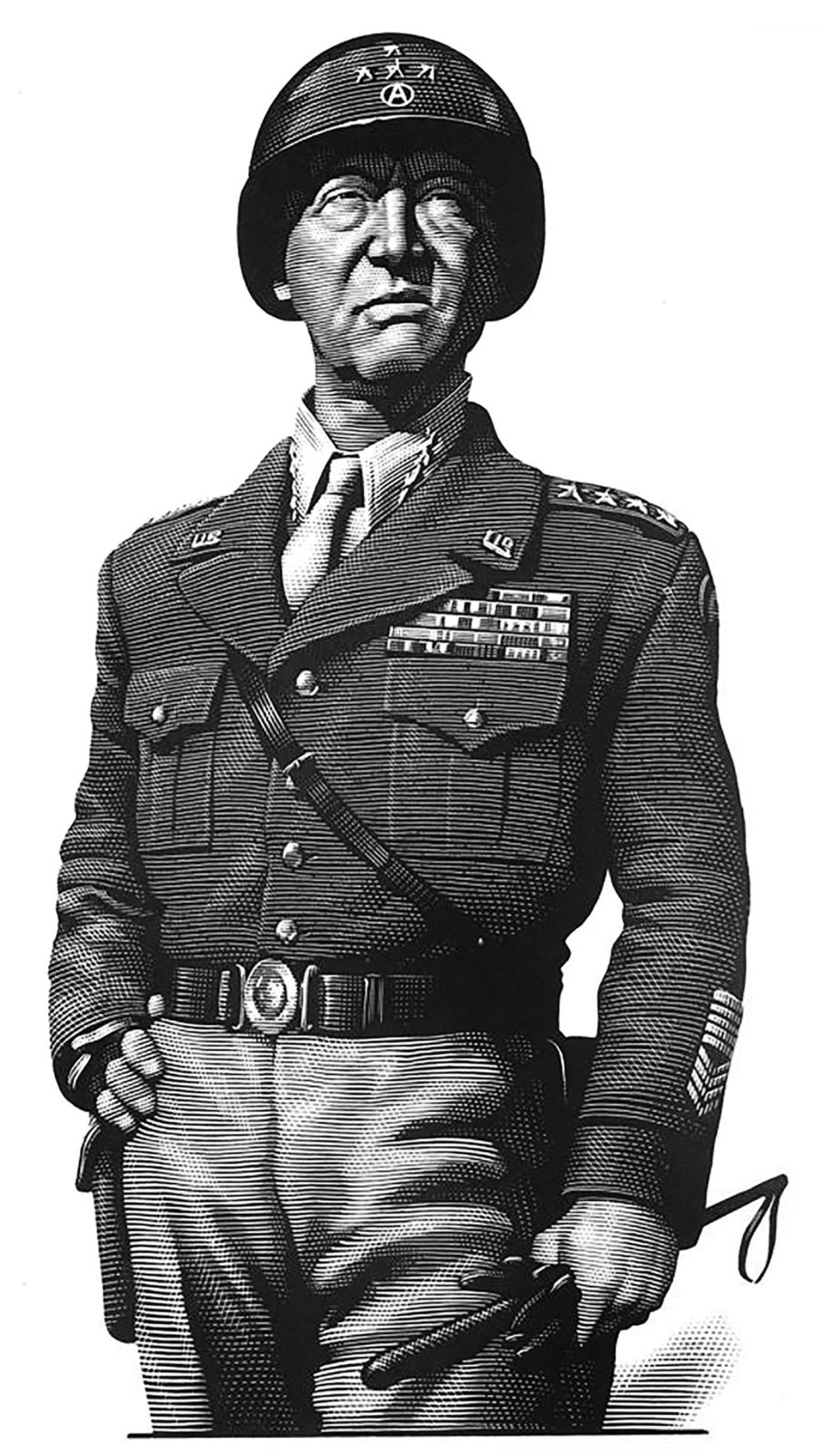 Richard Solomon - Mark-Summers-434-General-George-S-Patton