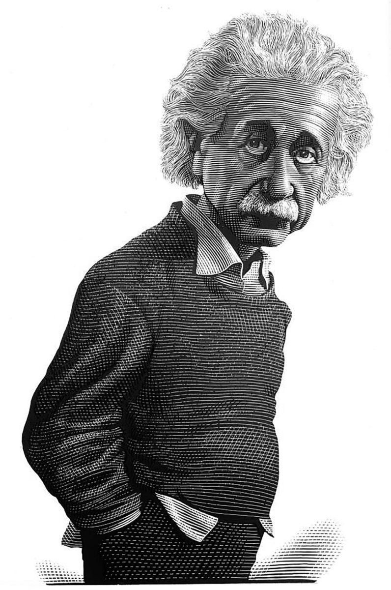 Richard Solomon - Mark-Summers-480-Albert-Einstein