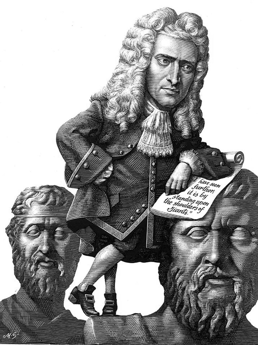 Richard Solomon - Mark-Summers-526-Sir-Isaac-Newton