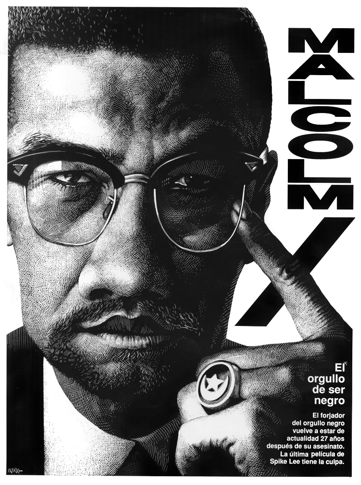 Richard Solomon - Malcolm X