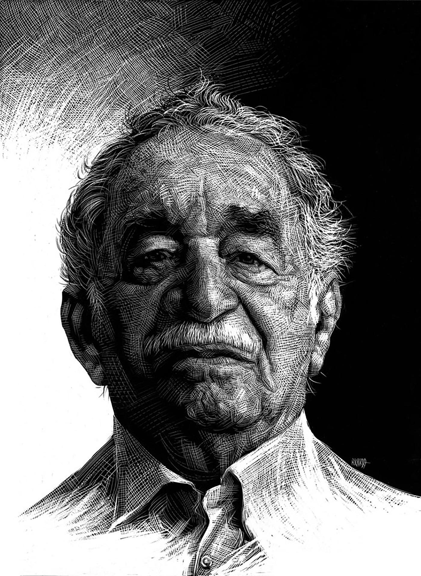 Richard Solomon - Ricardo-Martinez-129-Gabriel-Garcia-Marquez