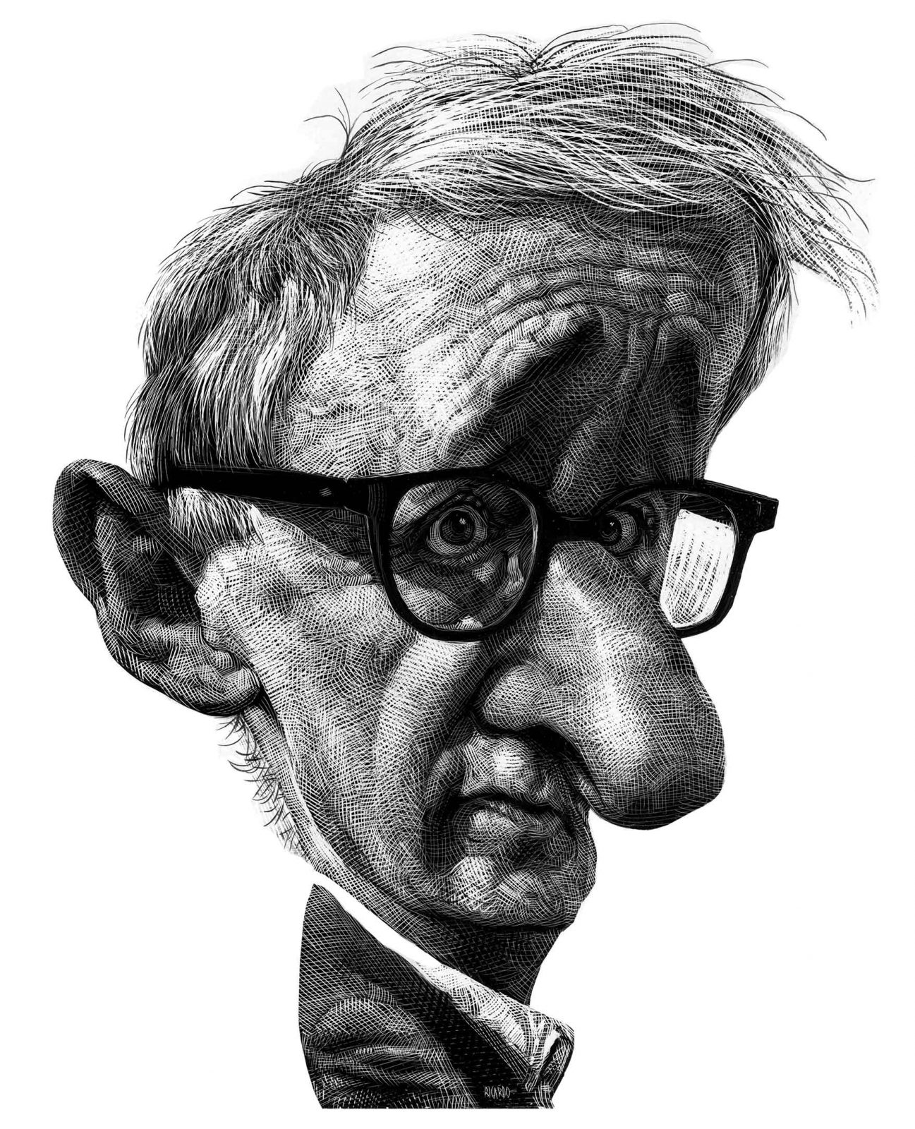 Richard Solomon - Ricardo-Martinez-218-M-Woody-Allen