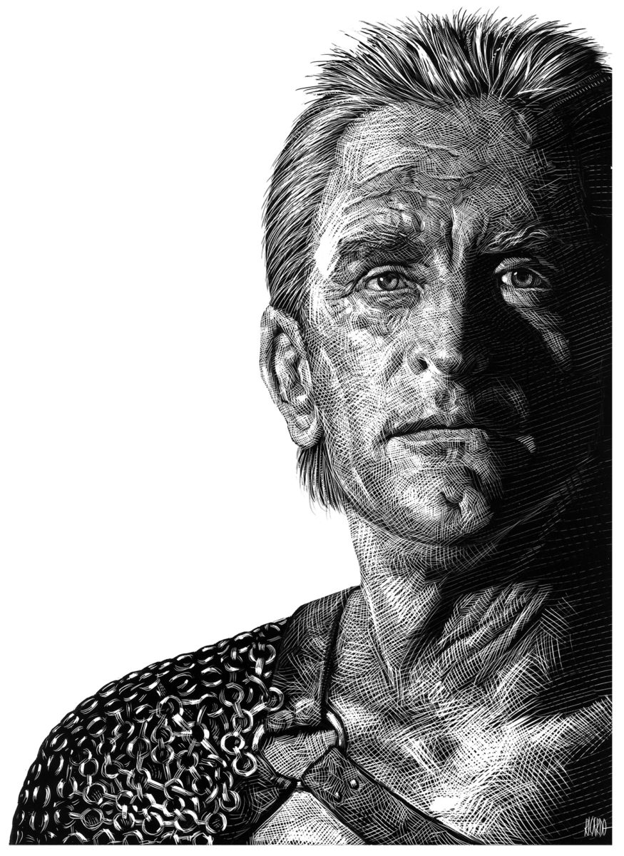Richard Solomon - Ricardo-Martinez-317_Kirk-Douglas-copia