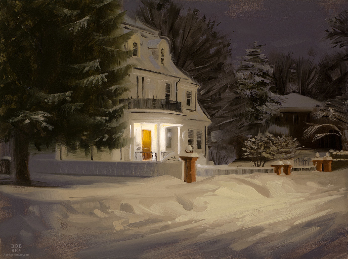 Richard Solomon - snowed-in