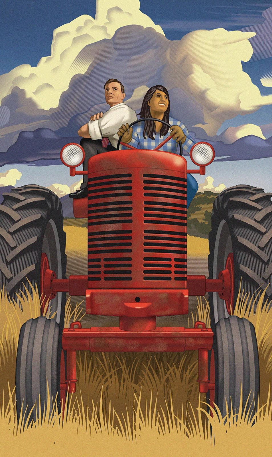 Richard Solomon - tractor