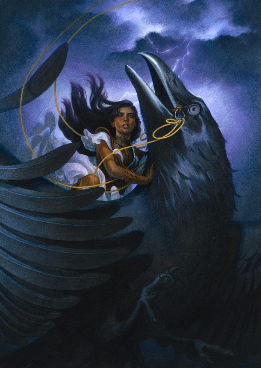 Richard Solomon - tran-nguyen-121-The_Crow_Rider_Final