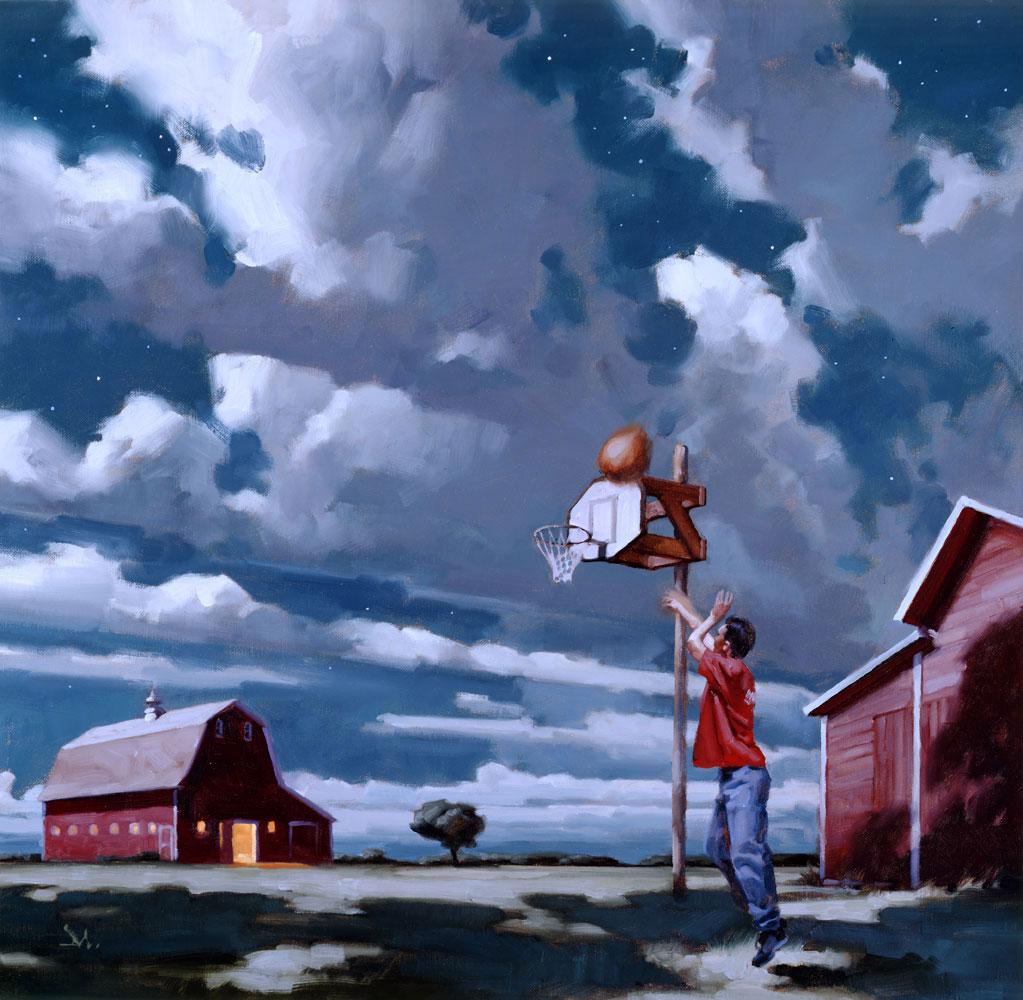 Richard Solomon - Gregory-Manchess-038-Basketball