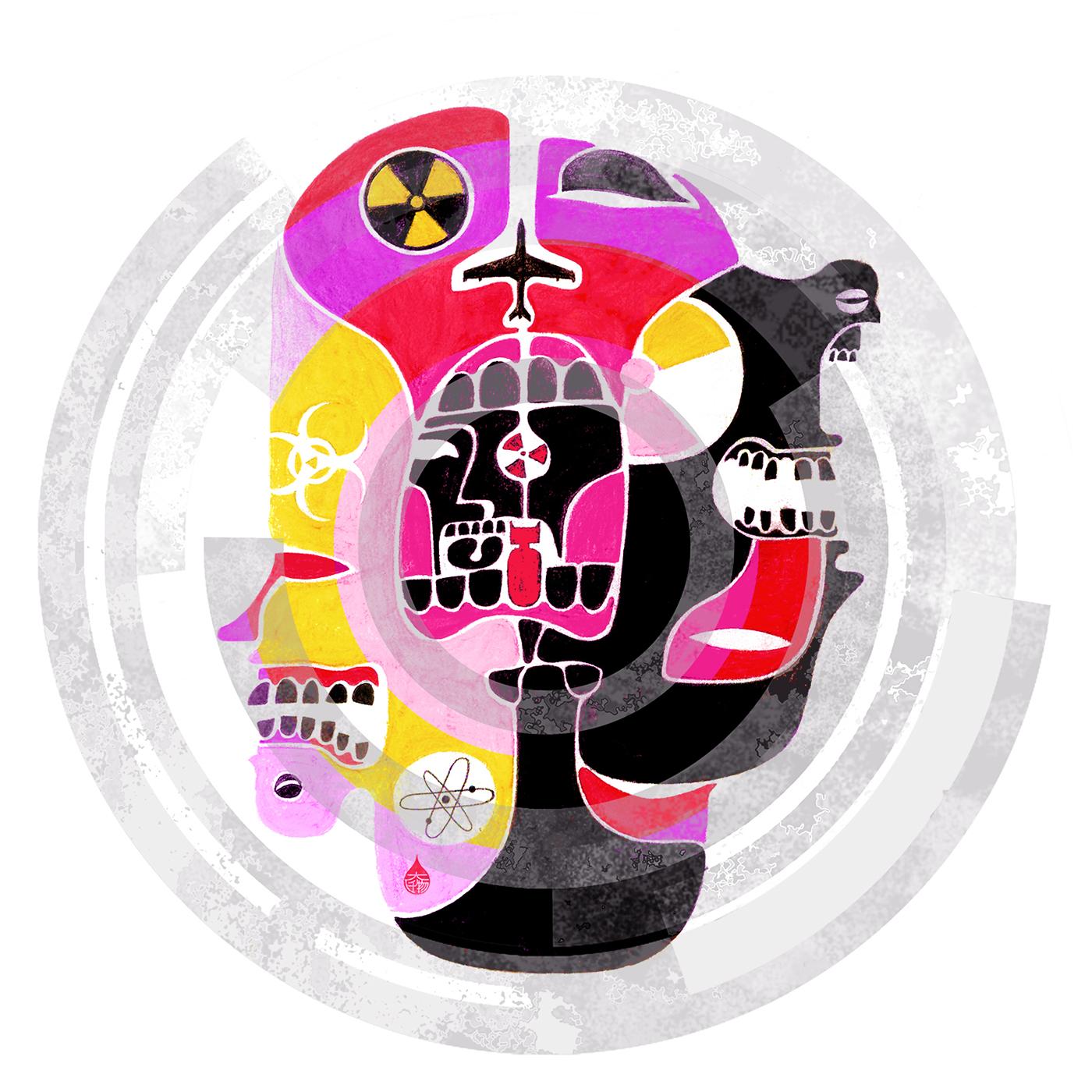 Richard Solomon - Jianrong-Lin-037-Atomic-Wave