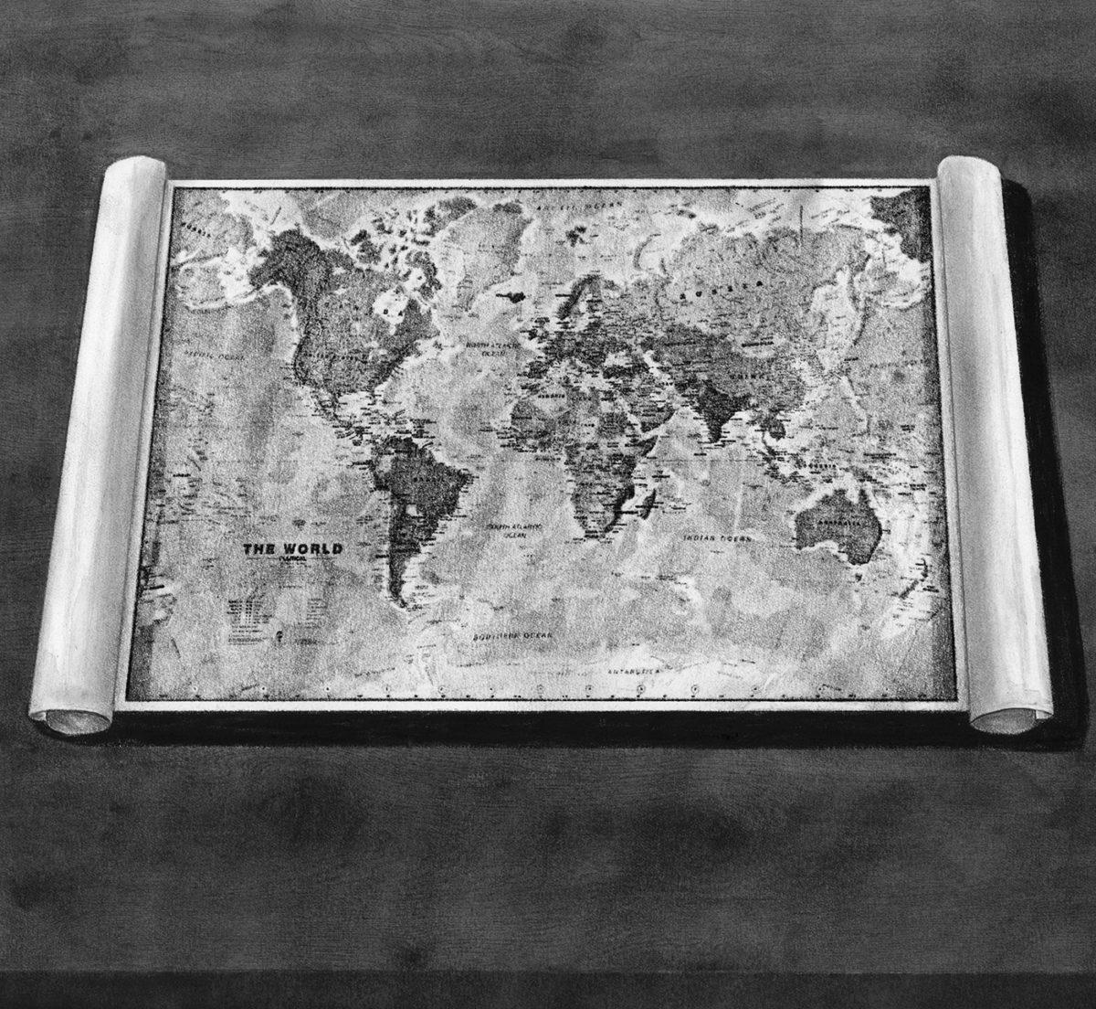 Richard Solomon - map