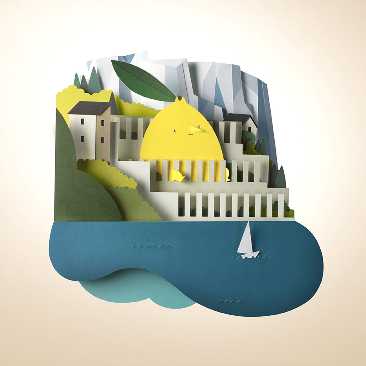 Richard Solomon - Bomboland-056-limone_papercut_illustration
