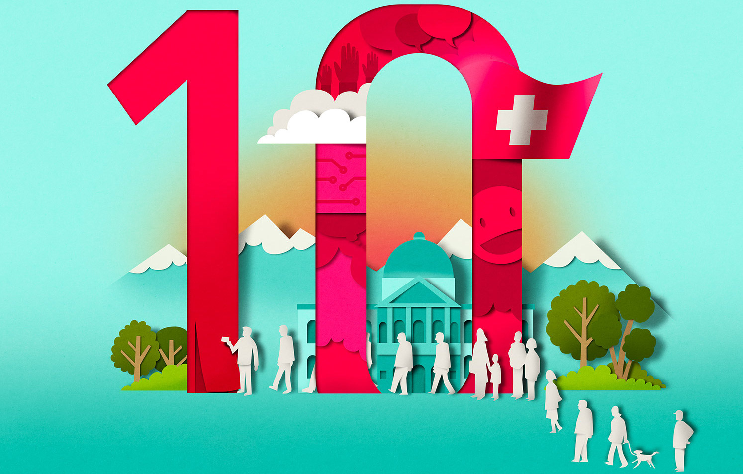Richard Solomon - editorial_papercut_cutout_diezeit_cover_illustration_bomboland_1