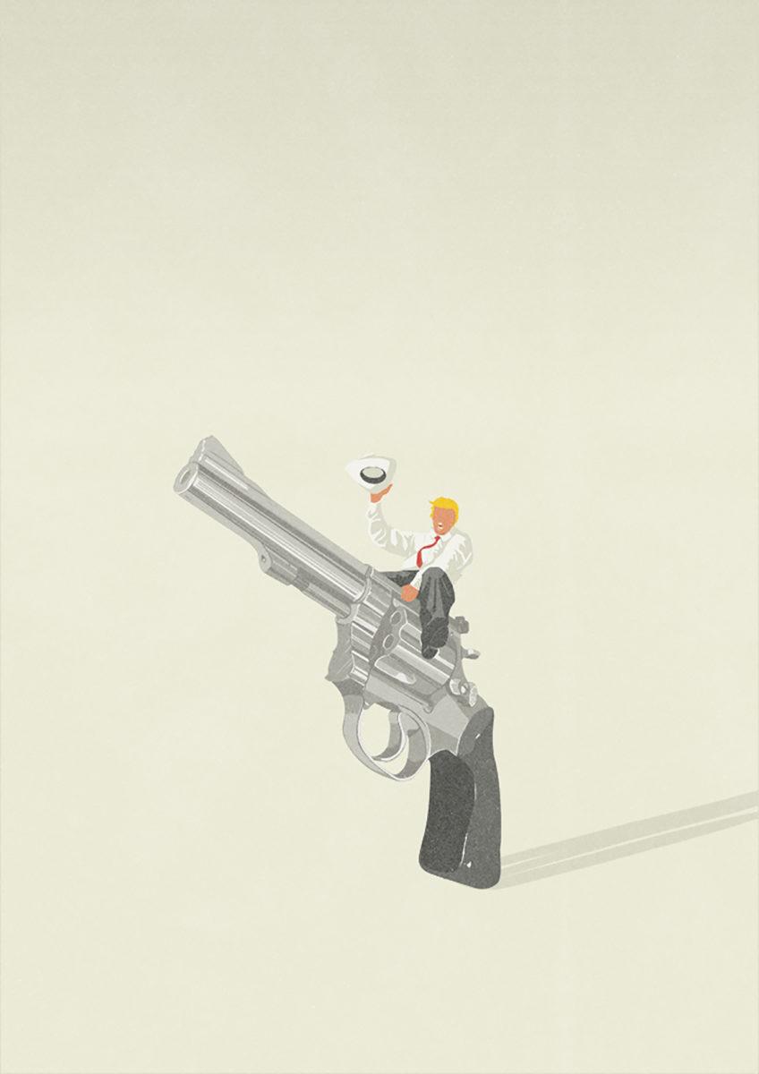Richard Solomon - stefania-infante-045-trump_and_weapons