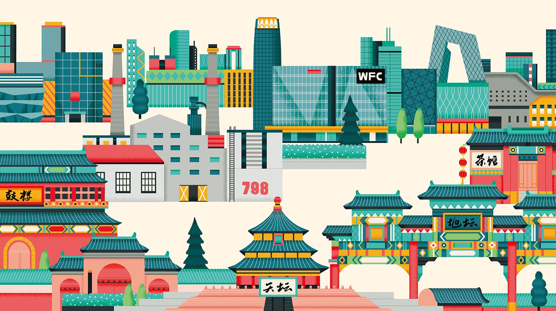 Richard Solomon - yulong-lli-076-Airbnb beijing office KV illo