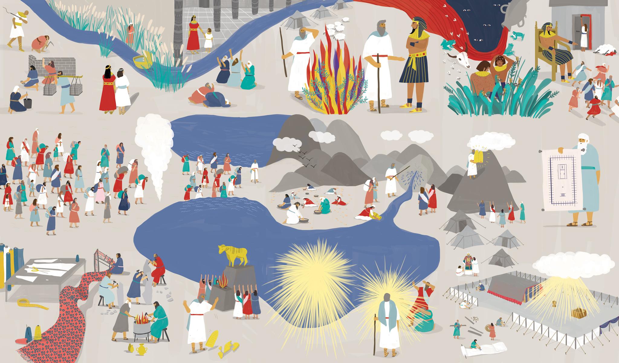 Richard Solomon - Maya-Ish-Shalom-076-KidsReadTruth_ExodusCards_Illustration_MIS