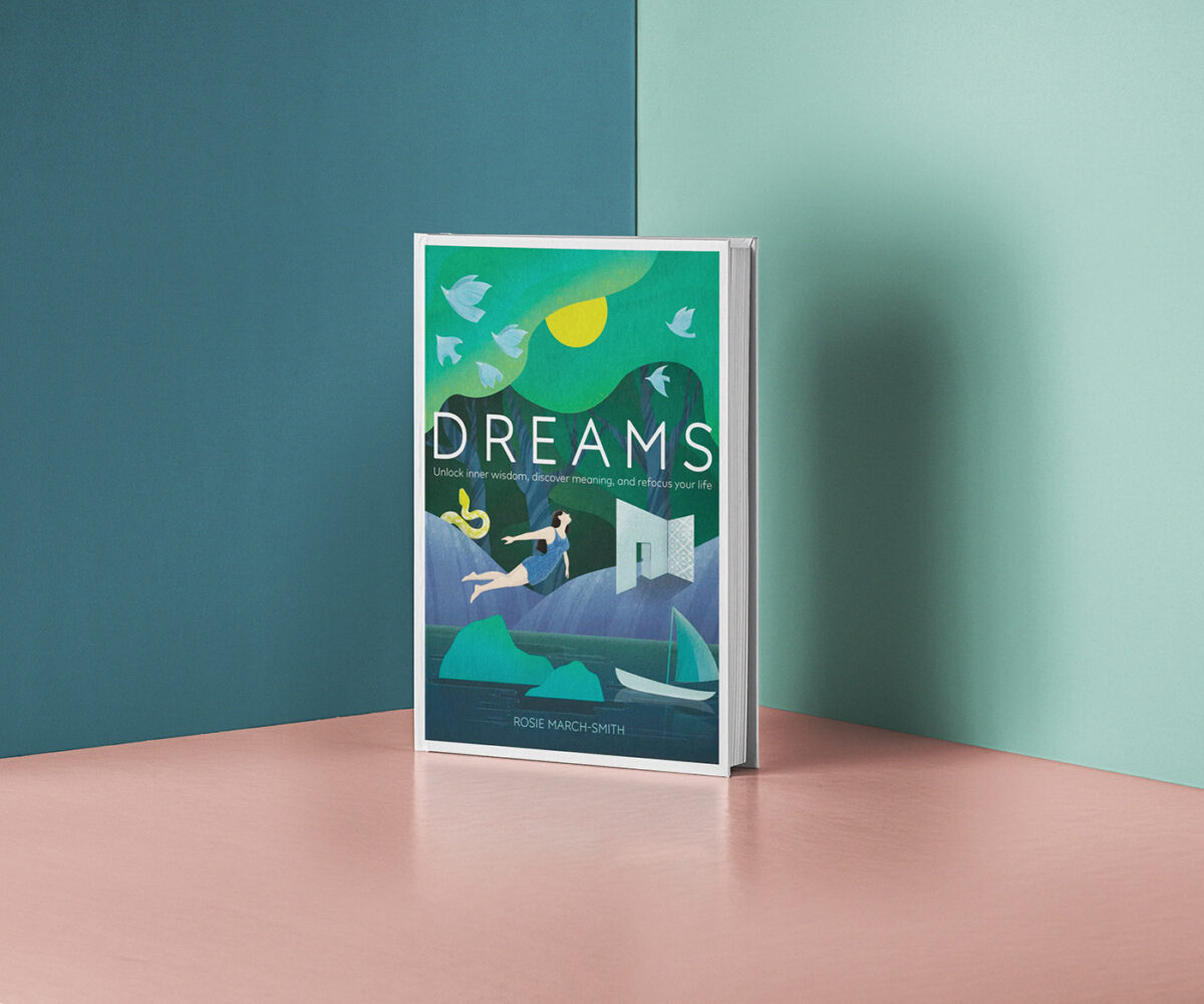 Richard Solomon - DK Books - Dreams UK cover- Publishing - 2019