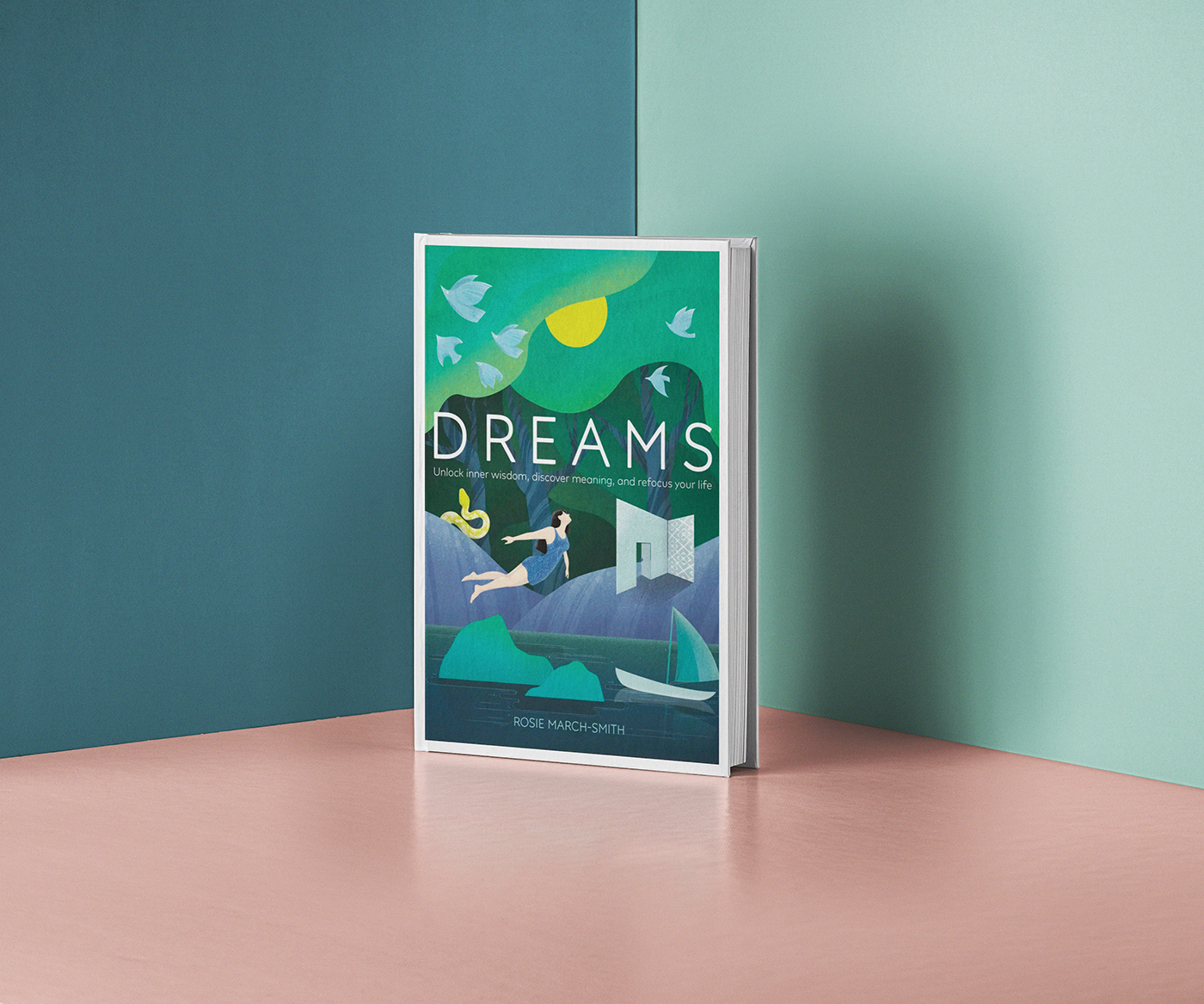Richard Solomon - DK Books - Dreams UK cover- Publishing - 2019