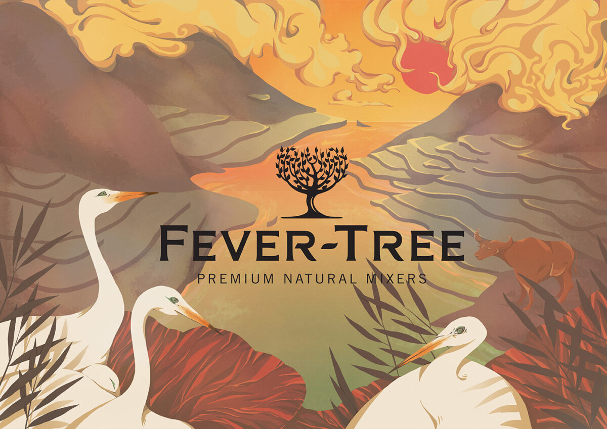 Richard Solomon - YCN - Fever-Tree Limited Package egret - commercial - 2016