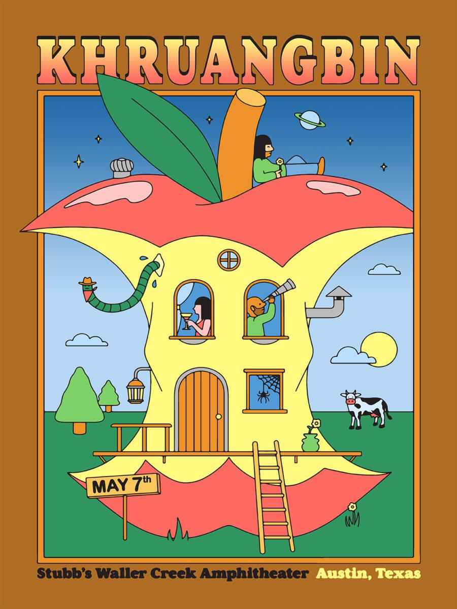 Richard Solomon - khruangbin-poster-1