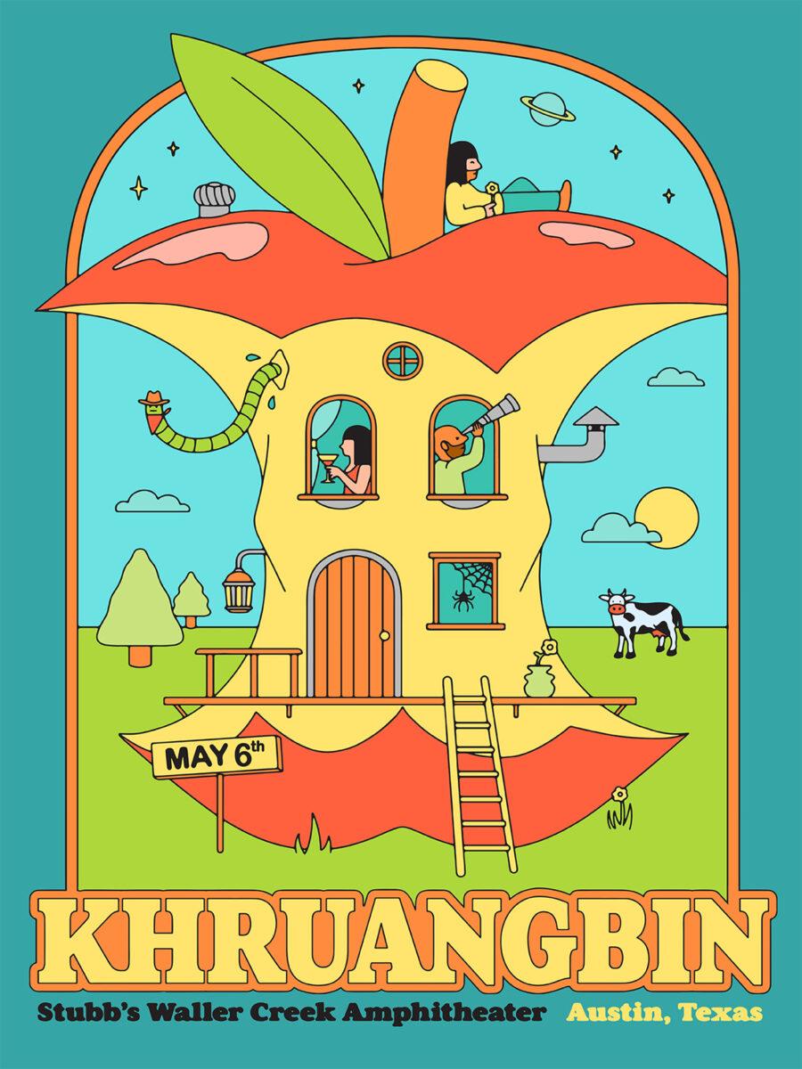 Richard Solomon - khruangbin-poster-2