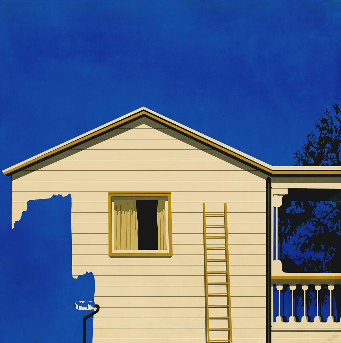 Richard Solomon - casa blu