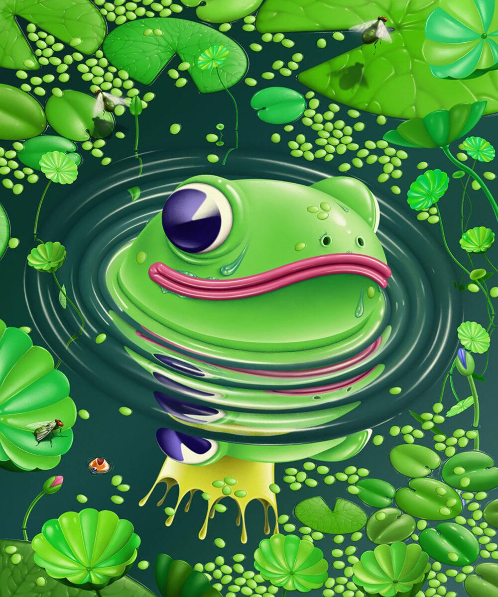 Richard Solomon - Carlos-Miranda-024-The Frog King