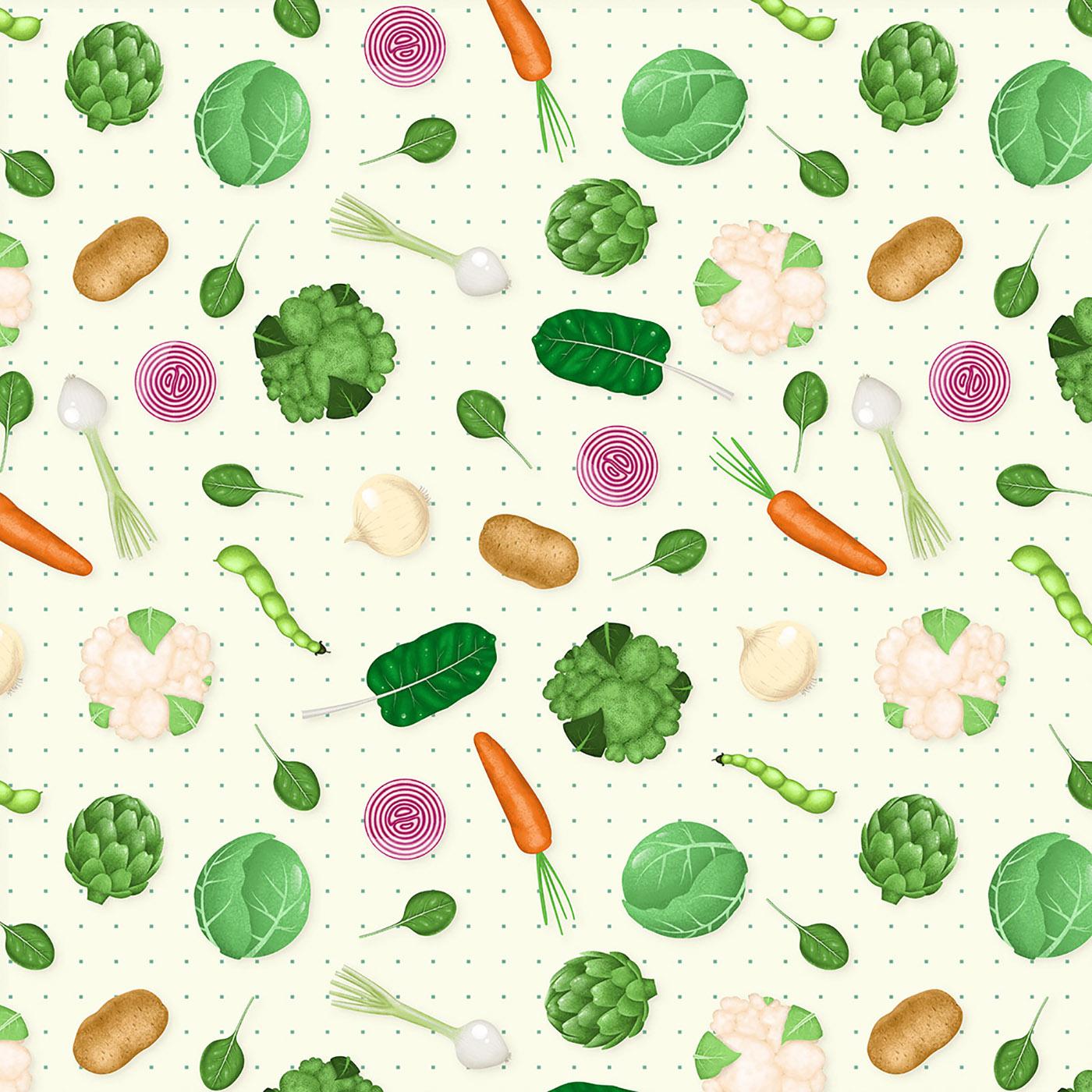 Richard Solomon - Carlos-Miranda-030-Veggie Pattern